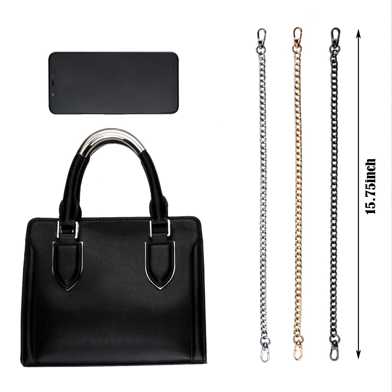 Amazon.com: Zonon - 3 piezas de correas de cadena de bolso ...