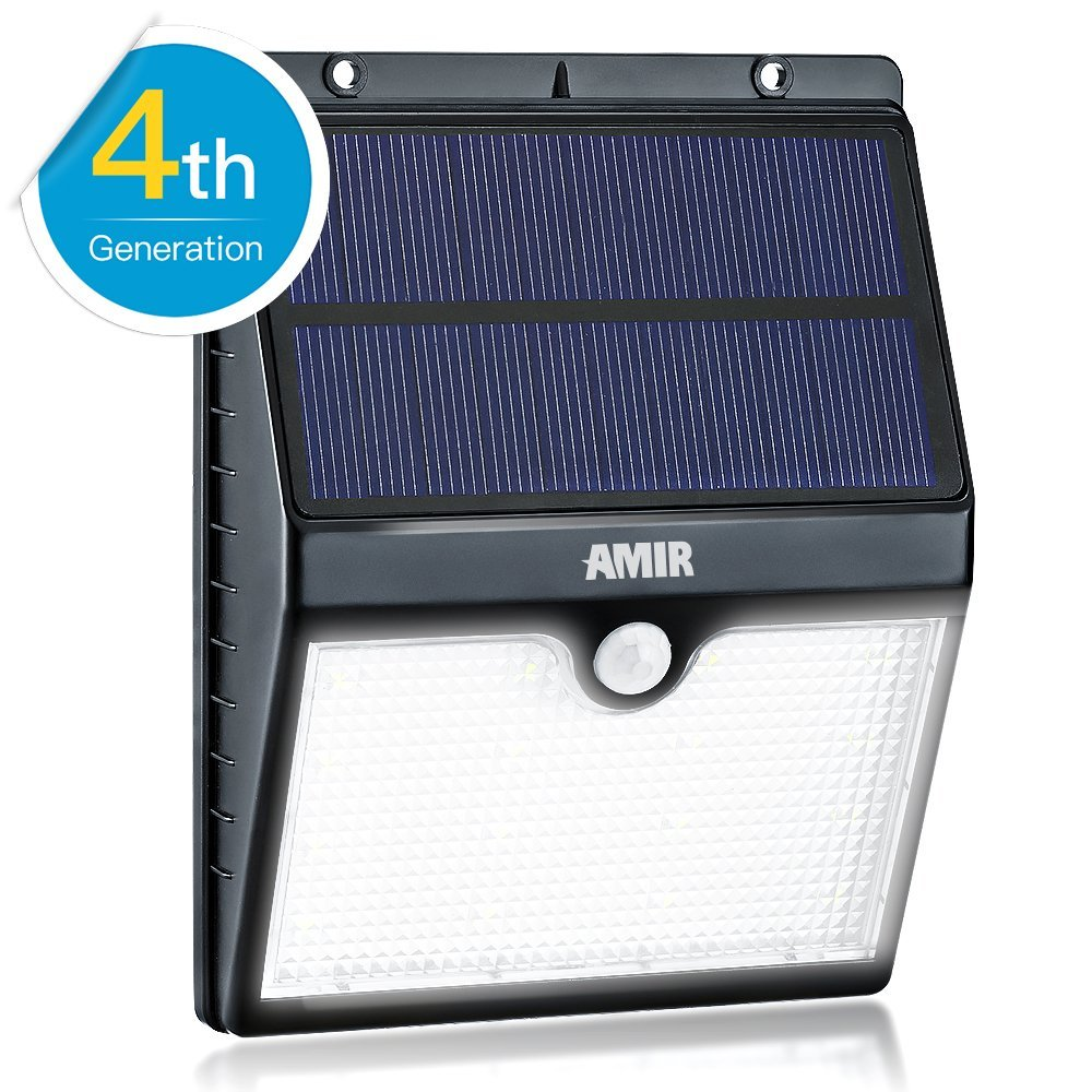 other diy tools solar motion sensor lights amir 16. Black Bedroom Furniture Sets. Home Design Ideas