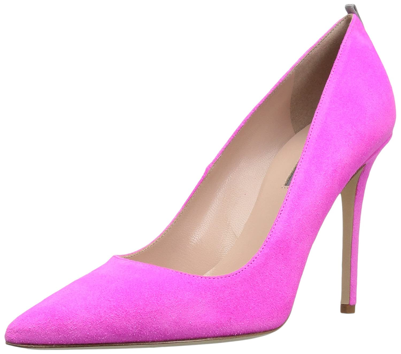 SJP by Sarah Jessica Parker Fawn, Zapatos de Tacón para Mujer 42 EU|Rosa (Candy Pink Suede)