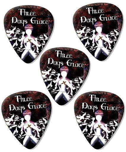 Tres días Grace Púas para guitarra x 5: Amazon.es: Instrumentos ...