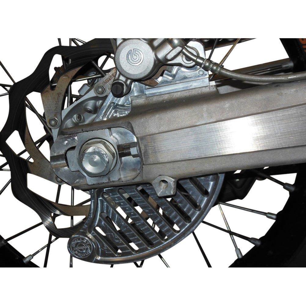 Flatland Racing Rear Disc Guard - Fits: KTM 690 Enduro 2013-2017