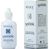 REXSOL Nixodil Hair and Scalp Super Revitalizer | With Live Yeast Cell Derivatives, Biotin, Lecithin, Swertia Extract…