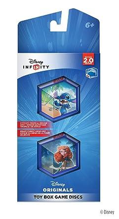 Nouveau Disney Infinity Disney Originals Toy Box Game Discs-Stitch Merida