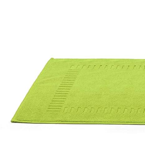 PURE pistacho-Alfombra de baño, toalla de 50 x 70 cm