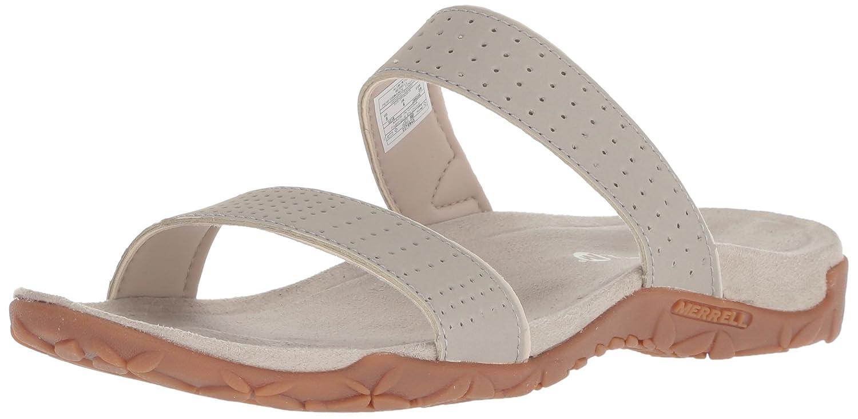 Merrell Women's Terran Ari Slide Sandal B078NGXW2J 6 B(M) US|Aluminum