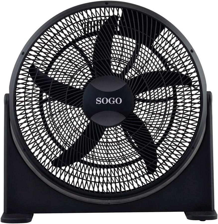 Sogo VEN-SS-21100 - Ventilador de suelo industrial, 20 Pulgadas ...