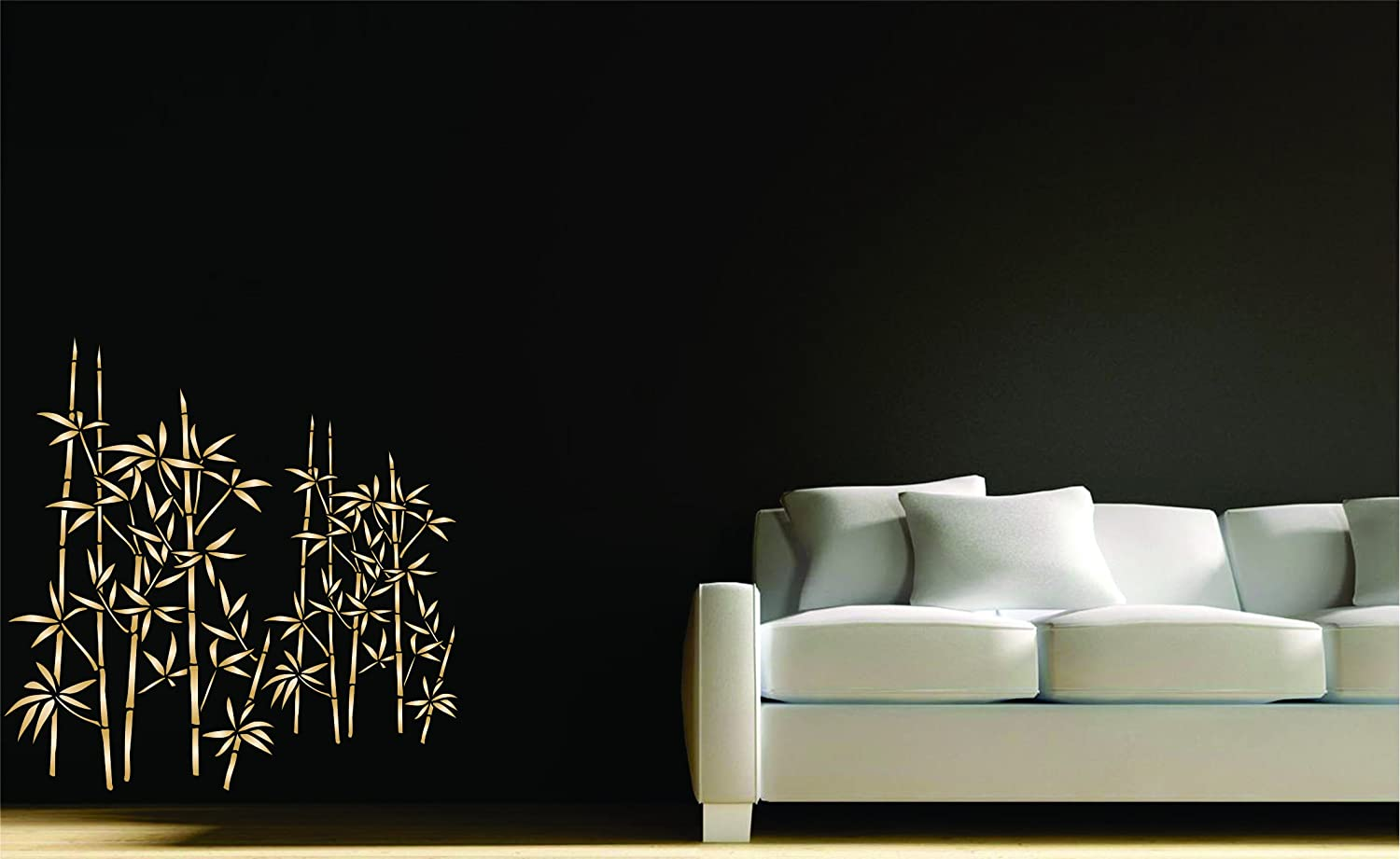Wall stencils amazon choice image home wall decoration ideas amazon bamboo stencil size 10w x 16h reusable wall amazon bamboo stencil size 10w x 16h amipublicfo Gallery