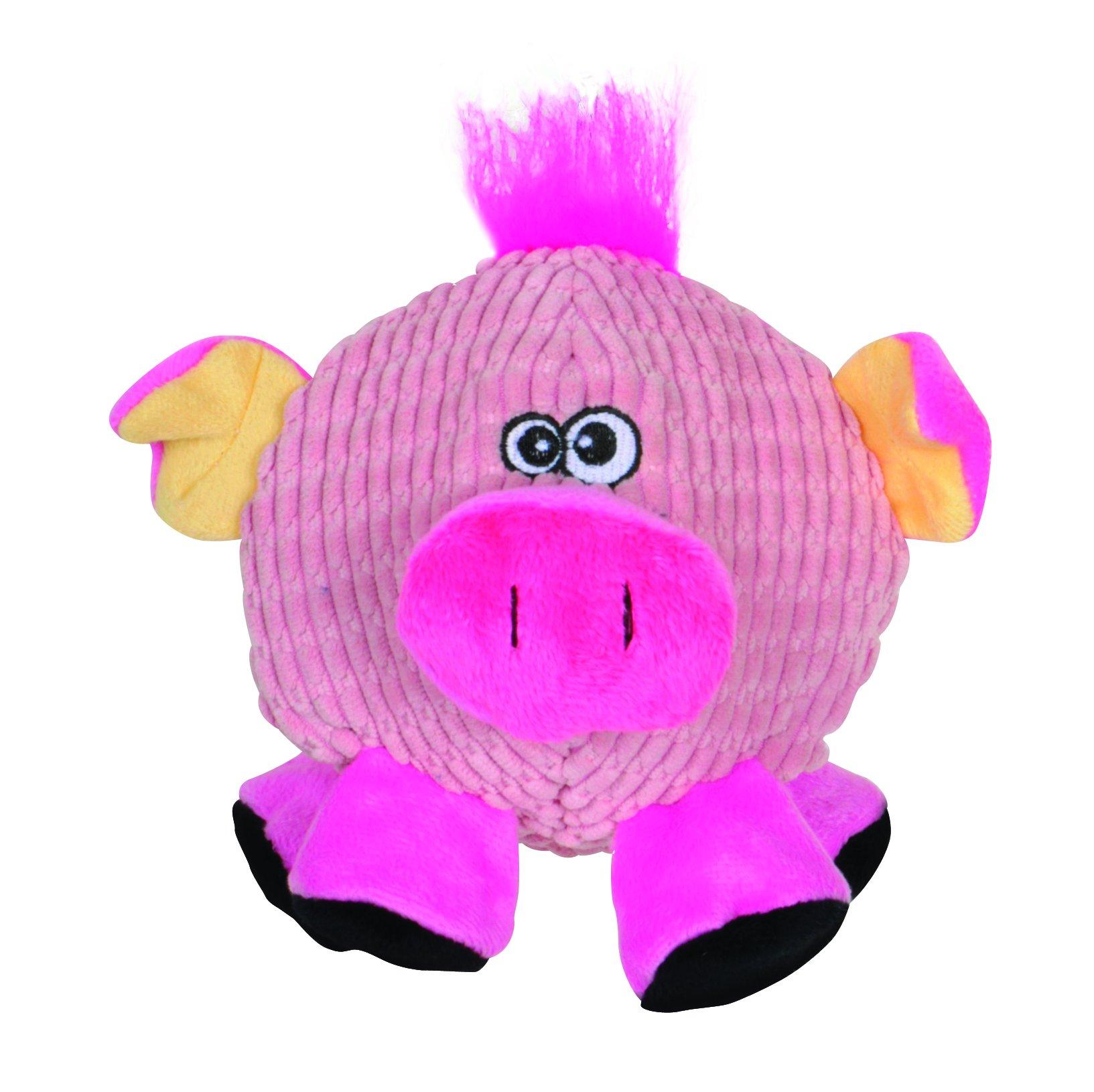 Smart Pet Love - Tender-Tuffs - Ball - Round Pink Pig