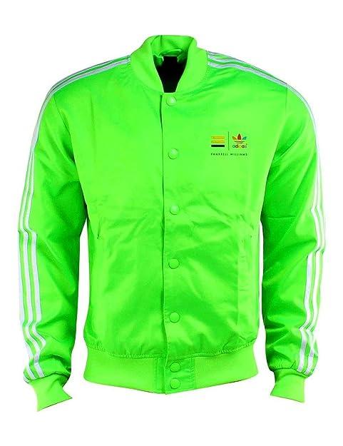 adidas Originals Unisex Verde en Chaqueta de chándal tamaño XL ...