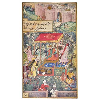 Amazon.com: Indian Shelf Handmade Paper Persian Miniature Prints of ...