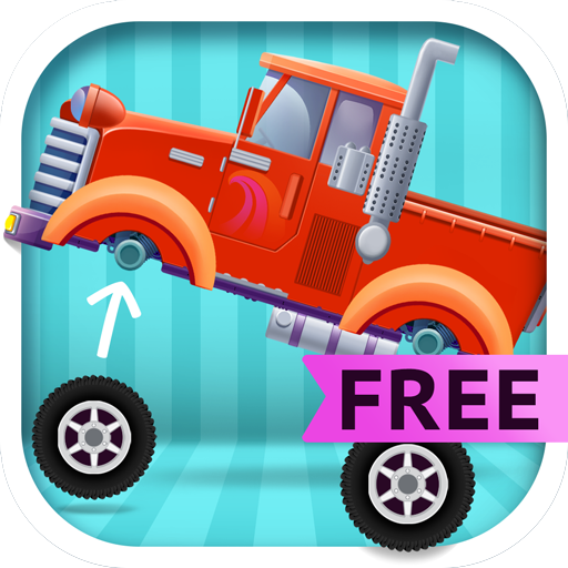 Truck Builder - Tractor, Fire Truck and Monster Truck Simulator Games for -