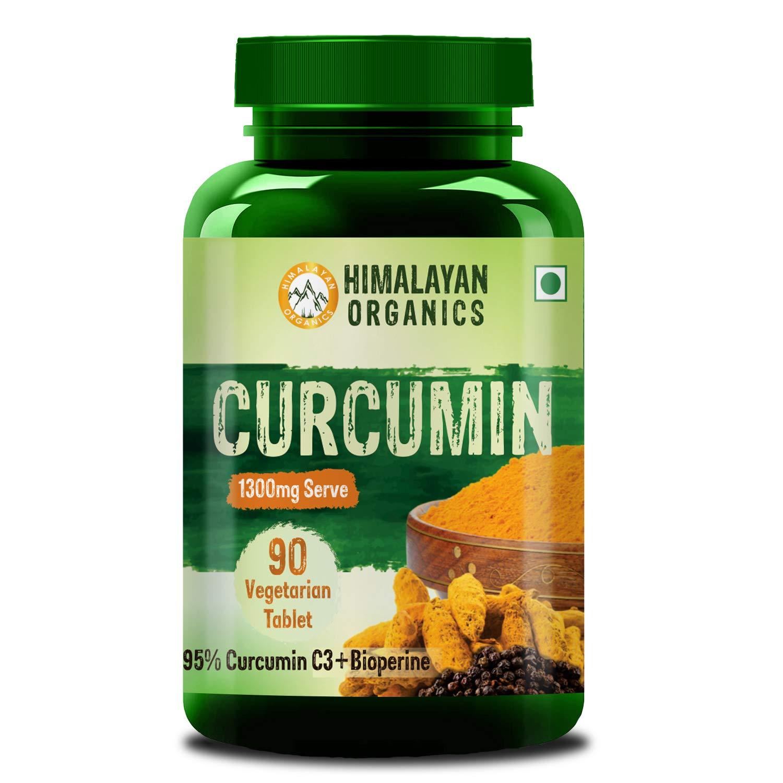 Himalayan Organics Curcumin With Bioperine, Organic