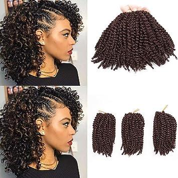 Amazoncom Beautygrace Pack Of 3 Marlybob Crochet Braids Hair