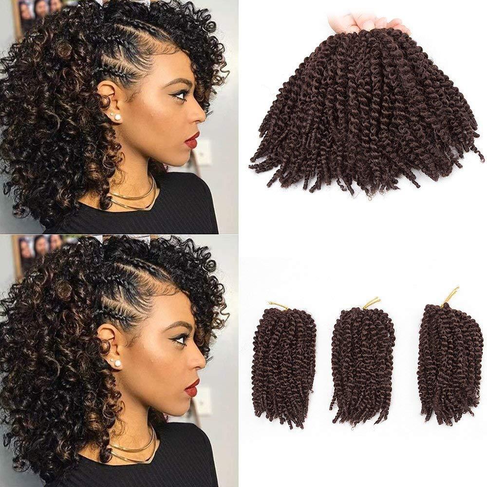Amazon Beautygrace Pack Of 3 Marlybob Crochet Braids Hair