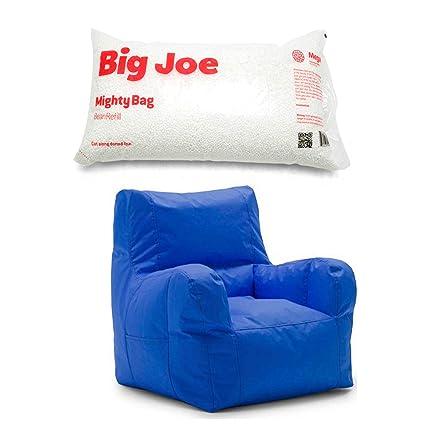 Enjoyable Amazon Com Big Joe Smartmax Duo Bean Bag Chair In Sapphire Onthecornerstone Fun Painted Chair Ideas Images Onthecornerstoneorg