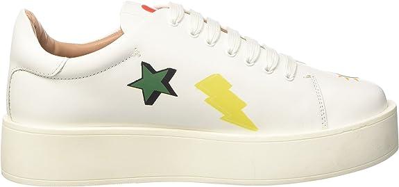 Twin Set Damen CS7PFS Sneaker, Mehrfarbig (COL.Unico 00100