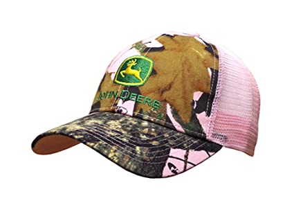 921d996ae573b9 Image Unavailable. Image not available for. Color: John Deere Women's Mossy  Oak Mesh Back Cap ...