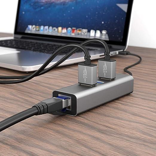KabelDirekt - Cable de red Cat 7 RJ45 (5 m, 10 Gigabit Ethernet, LAN & Patch (adecuado para redes de alta velocidad, interruptor, router, PC y móde), color negro: Amazon.es: Electrónica