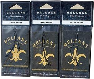 Orleans Auto Fragrance - Orleans Creme Brulee 3 Pack