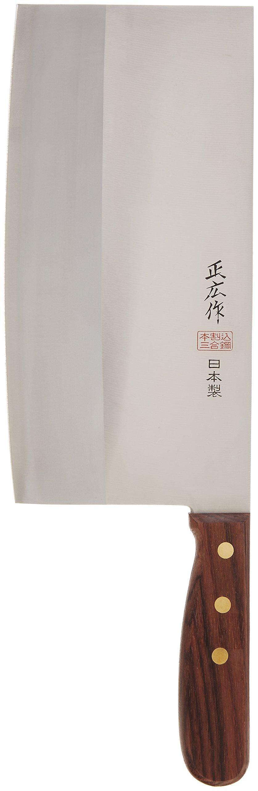 Japanese Masahiro's Stainless-steel Chinese Kitchen Chef's Knife Tx-204 by Masahiro's