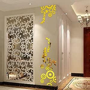 JiaMeng Pegatina de Pared, Elegante Hoja desprendible 3D Love Etiqueta de la Pared calcomanías de Vinilo de Arte decoración del Dormitorio (Multicolor 5, tamaño Libre): Amazon.es: Hogar