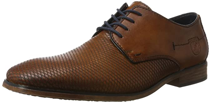 10613, Derby Homme, Marron (Amaretto/Navy), 42 EURieker