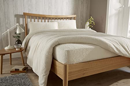 GoldStar® Teddy Fleece Extra Deep Fitted Sheets Cozy Warm Bed Linen Sheet  All Sizes,