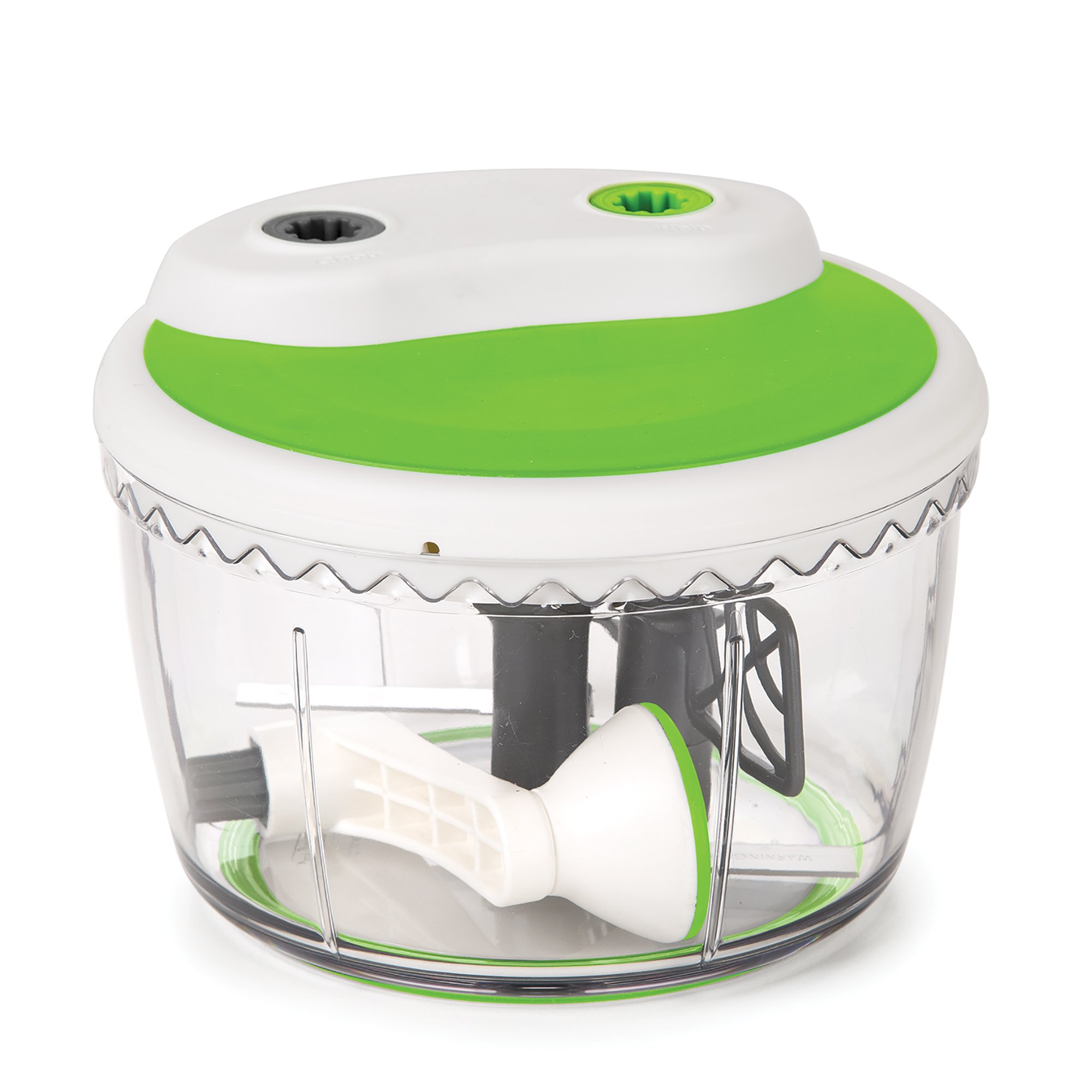 Prepworks by Progressive Dual Speed Chop & Whip, Two Speed Settings, Non-Skid Base, Whip Cream, Dressings, Mincing Onions, Salsa, Mixer, Vegetables, Coleslaw by Progressive International (Image #3)