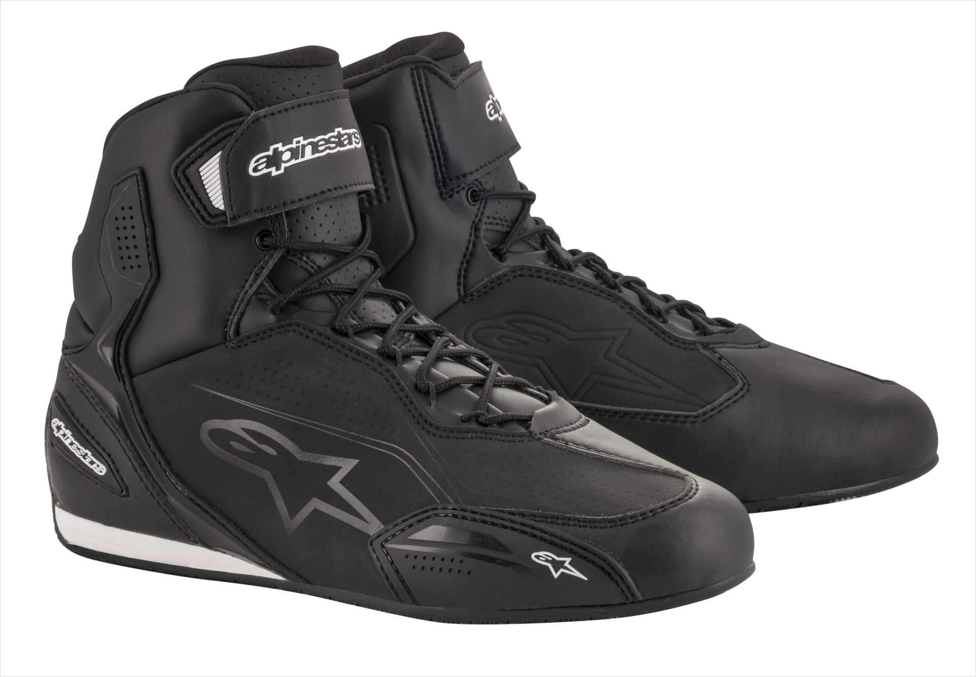 Alpinestars Faster-3 Shoes (8, Black/Black)