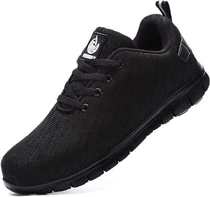 Amazon.com: Udirini Steel Toe Sneakers