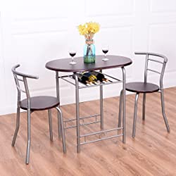 Dining Set Table and 2 Chairs