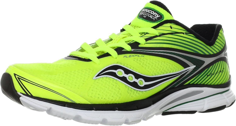 SAUCONY Kinvara 4 Zapatilla de Running Caballero, Verde/Negro, 46: Amazon.es: Zapatos y complementos