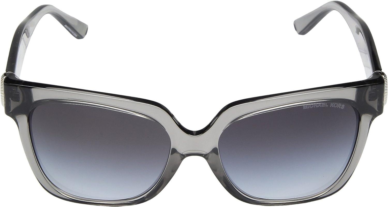0e70d93e82e07c Michael Kors ENA 329911 55, Montures de Lunettes Femme, Gris  Transparent Grey Gradient  Amazon.fr  Vêtements et accessoires