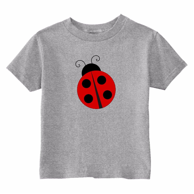 U.S Custom Kids Ladybug Toddler T-Shirt