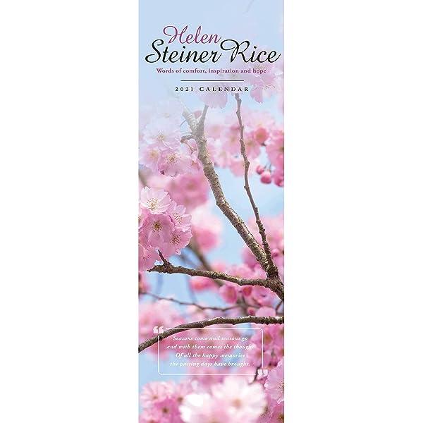 Amazon.: Steiner Rice Helen Slim Calendar 2021 (Slim Standard