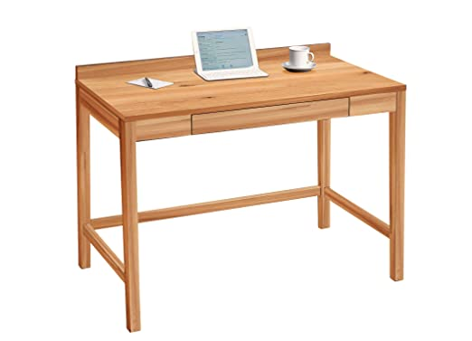 HomeTrends4You Living - Mesa de Escritorio (Madera de Roble ...