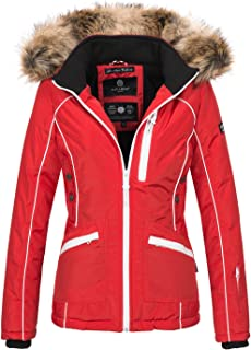 1673b50494b06e Navahoo Damen Winter Jacke Outdoor Winterjacke warm gefüttert Parka B649