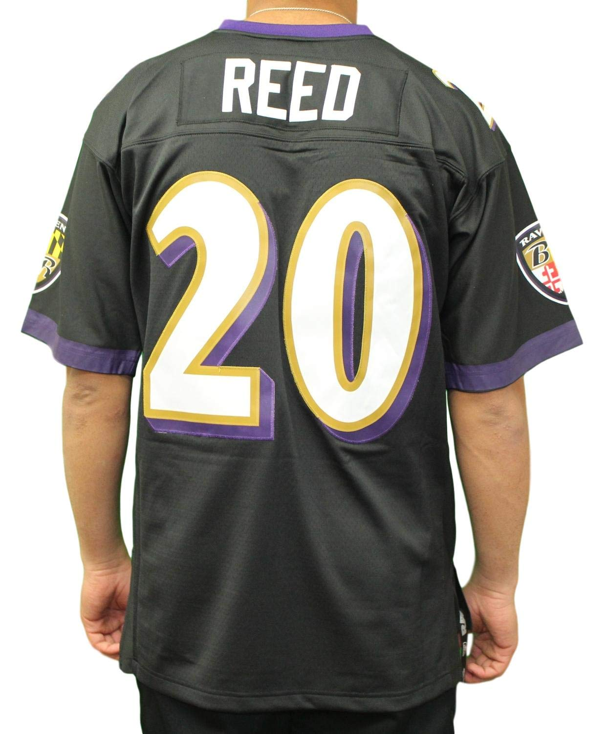 low cost ab1a9 5b6be Amazon.com : Mitchell & Ness Ed Reed Baltimore Ravens NFL ...