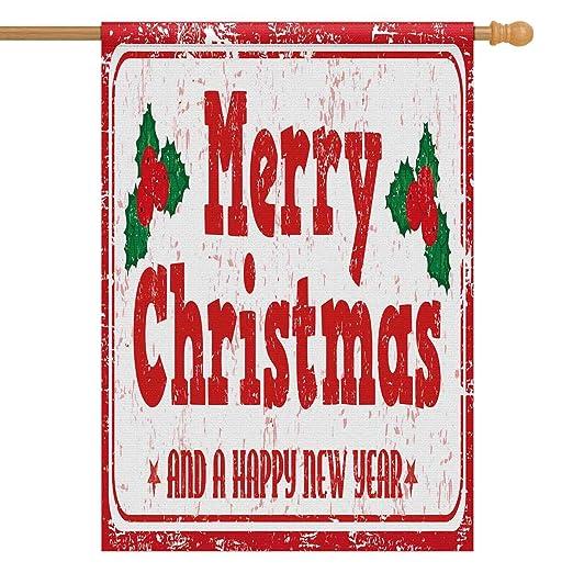 InterestPrint - Sello de Goma con diseño de Navidad y año ...