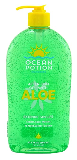 amazon com ocean potion pure aloe vera gel 20 5 oz after sun
