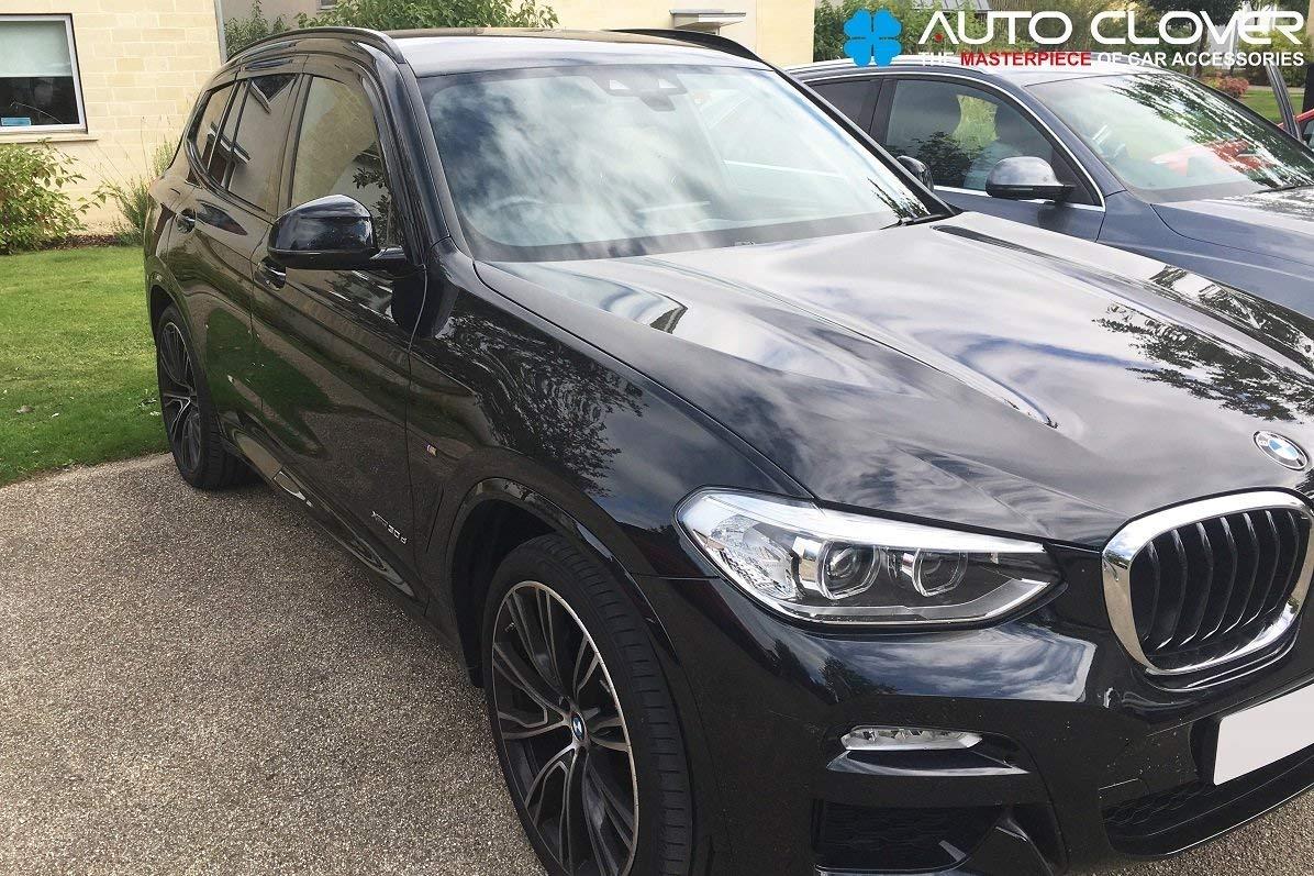 Autoclover Lot de 6 d/éflecteurs dair pour BMW X3 G01 2018+