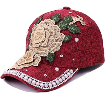 RFVTGB Gorra De Béisbol Rosas De Moda Sólidas Hombres Mujeres ...