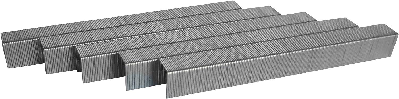 verzinkt L/änge: 6 mm Breite: 11,4 mm Typ 53 Heftklammern RIKAMA 15000 St/ück Tackerklammern Ma/ße 6//11,4 Tacker-Klammern