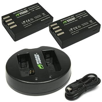 Wasabi energía de la batería (2-Pack) y doble cargador USB ...