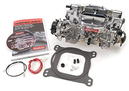 amazon com edelbrock 1806 thunder series avs carburetor automotive rh amazon com 650 Edelbrock Carburetor Fuel Inlet Edelbrock Tuning Chart