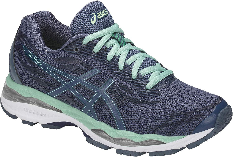 Asics - Zapatillas de Running de Malla para Mujer, Color Gris, Talla 40,5 EU: Amazon.es: Zapatos y complementos