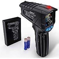 Termometr na Podczerwień Laserowy Cyfrowy Pirometr MESTEK -50°C do 800°C Bezdotykowy z Funkcją Alarmu LCD Temperatura…