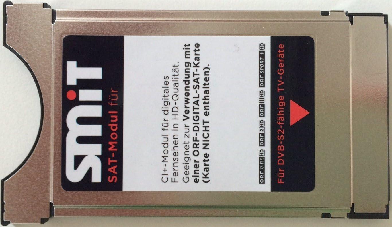 Smit ORF SAT-Modul Irdeto CI + módulo para tarjeta ORF ICE de la explotación de los receptores de los televisores LED LCD: Amazon.es: Electrónica