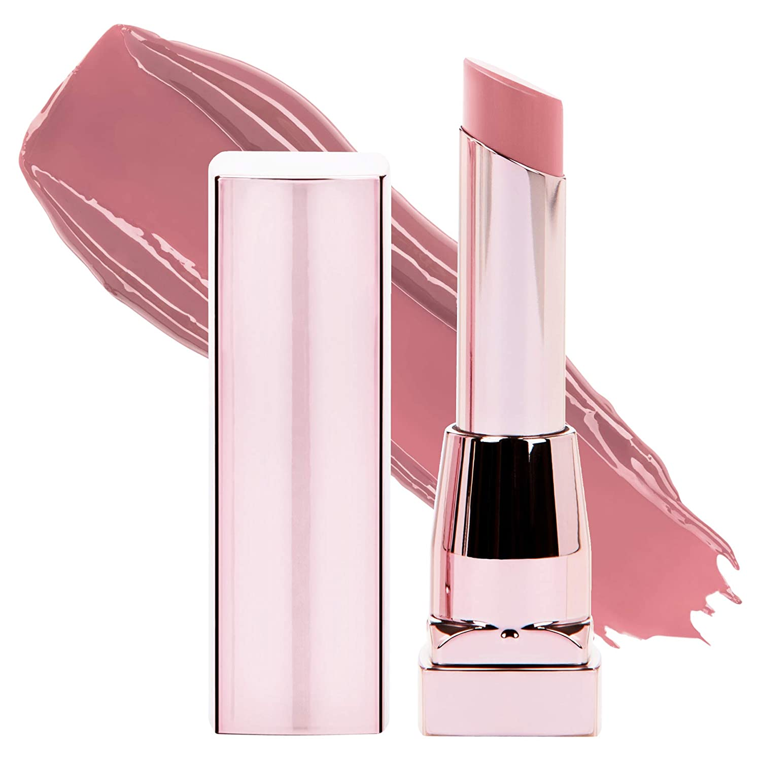 Maybelline New York Color Sensational Shine Compulsion Lipstick Makeup, Undressed Pink, 0.1 Ounce