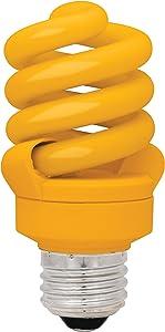 TCP 68914OR 14-watt Mini Spring Lightstyles Full Spectrum Light Bulb, Orange